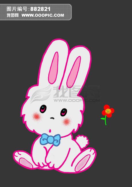 [版权图片] 卡通兔子模板下载 卡通兔子图片下载 插画 卡通 兔子 可爱