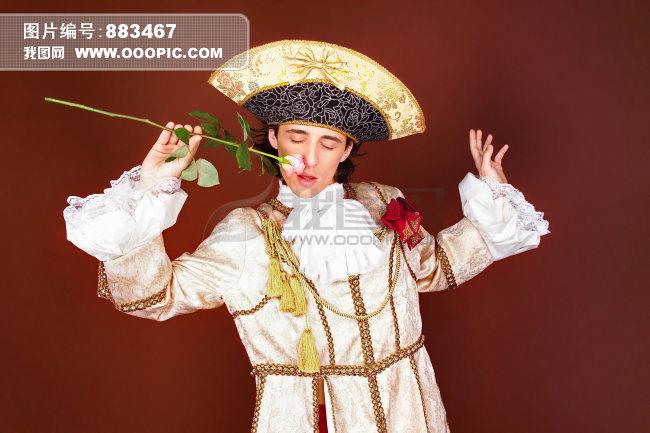 宫廷礼服图片
