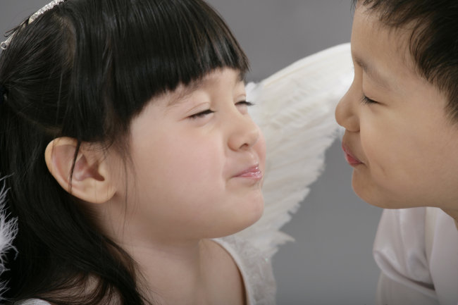 可爱小天使-小情侣模板下载 可爱小天使-小情侣图片下载天使儿童 儿童