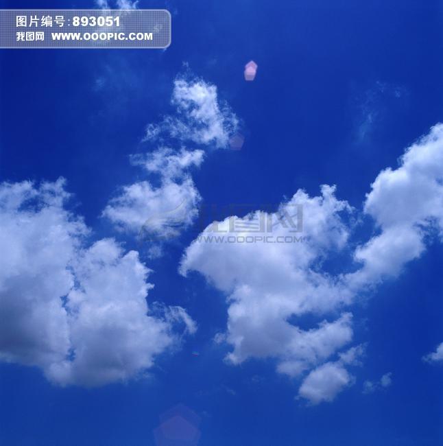 天空素材 蓝天 蓝天白云 蓝天白云素材 蓝天背景 摄影素材 实拍 光晕