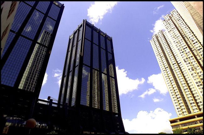 彩色高楼简笔画图片大全