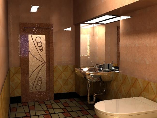 卫生间效果图模板下载(图片编号:897854)_家装模型_3d