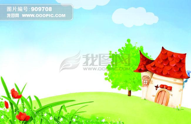 春天卡通模板下载(图片编号:909708)_qq空间可爱图片