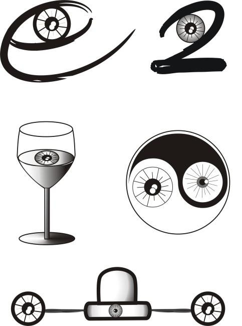 平面设计 其他 其它 > 眼睛的图形创意图片