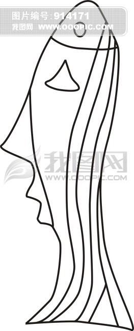 图形创意——影子联想(张群鱼)_乐乐简笔画