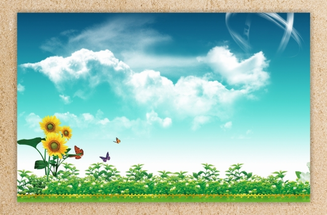 春天背景图模板下载(图片编号:918136)_山水风景画_画