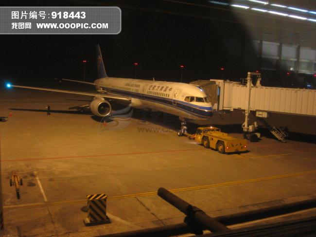桂林两江国际机场图片下载 桂林 两江国际机场 飞机 南航 夜航 机场