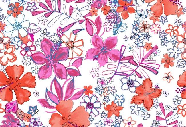 花朵手绘素材