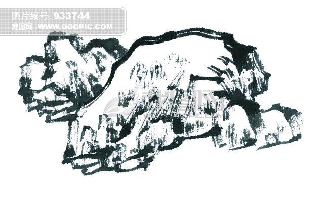 中国水墨画 无框画设计素材下载图片素材 图片编号 933744 中国传统 -图片