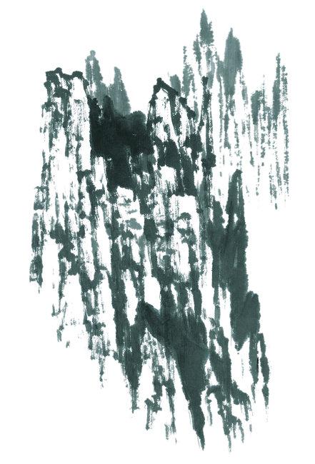 插画 插图 艺术品 创造力 现代艺术 艺术运动 国画 水墨画 黑白 山水图片