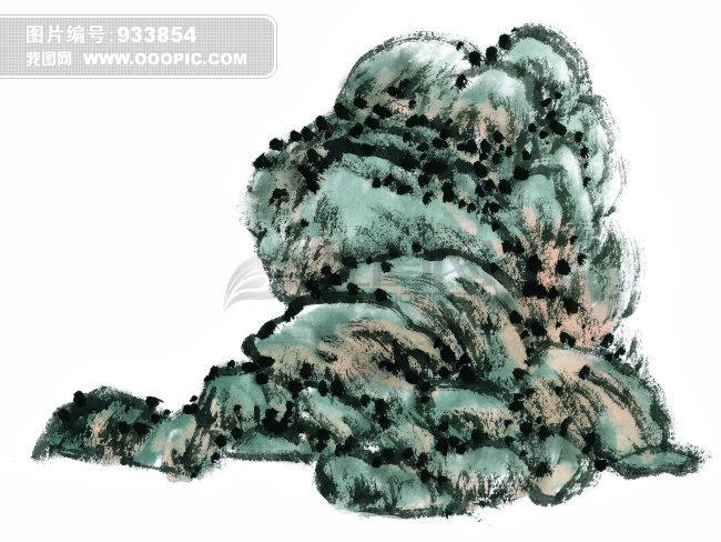 岩石画法_月饼简笔画画法