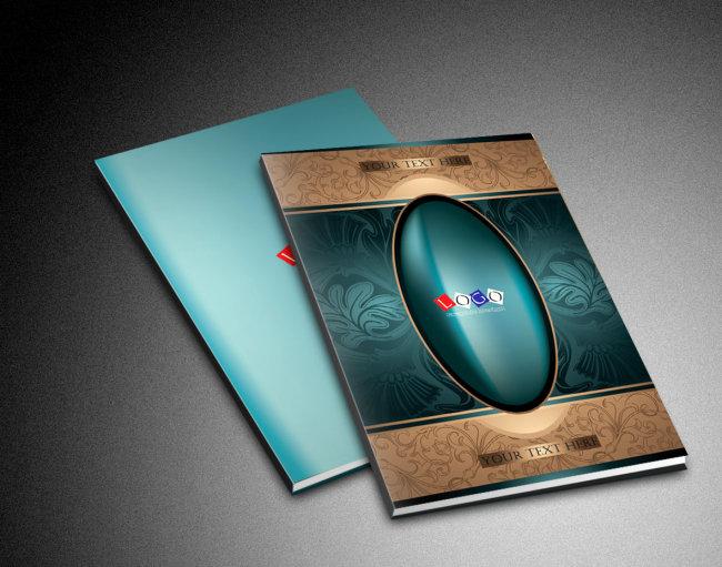 家居装饰画册封面设计模板