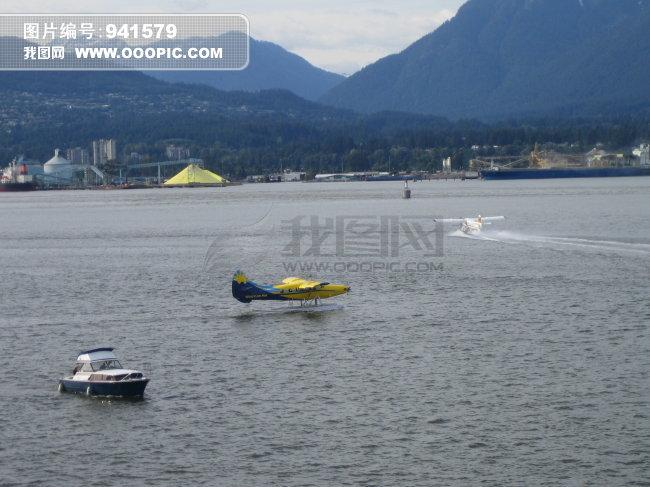 水上飞机模板下载 水上飞机图片下载 加拿大 温哥华 水上飞机