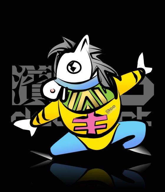 原创12生肖卡通形象设计 十二生肖马
