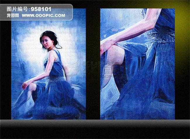 油画a 美女油画 人体艺术