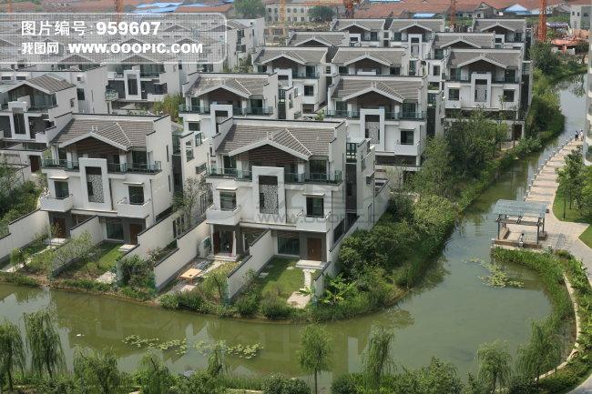 常州建筑公寓摄影图片图片下载 常州建筑 长岛别墅 东亚地区 中国地区