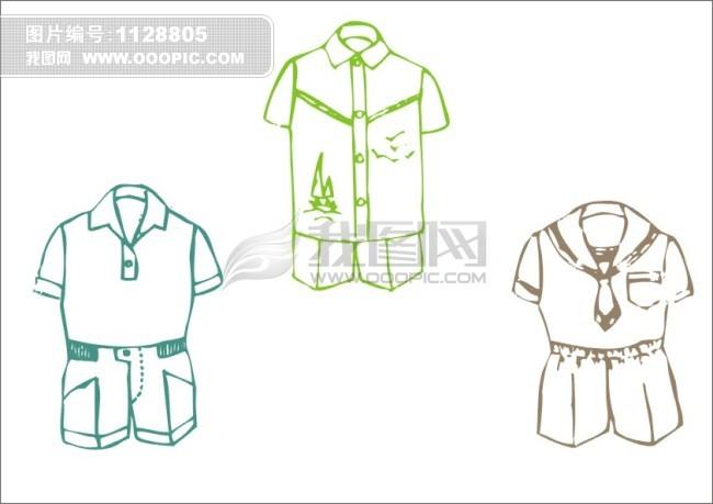 男童运动服设计