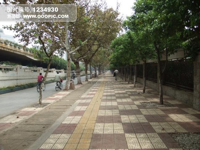 都市人行道图片下载 高清图片