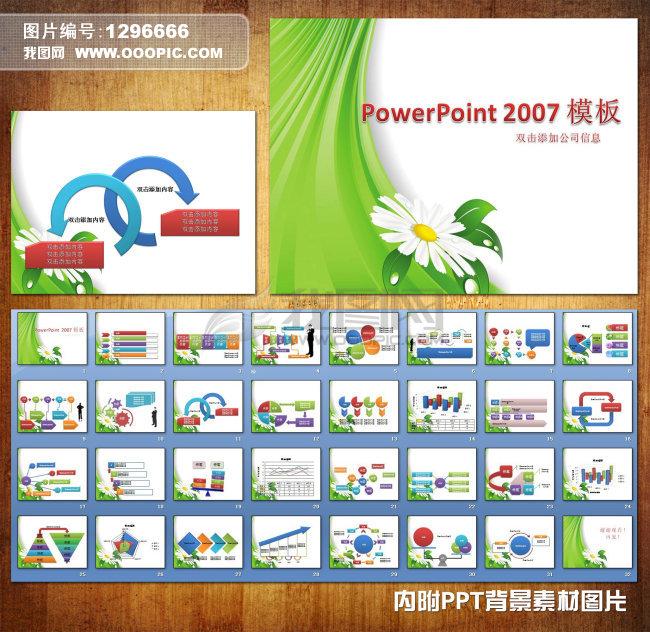 绿色环保自然ppt模板