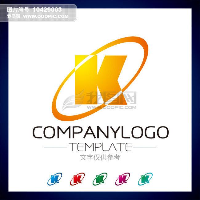 k logo设计 k字母标志模板