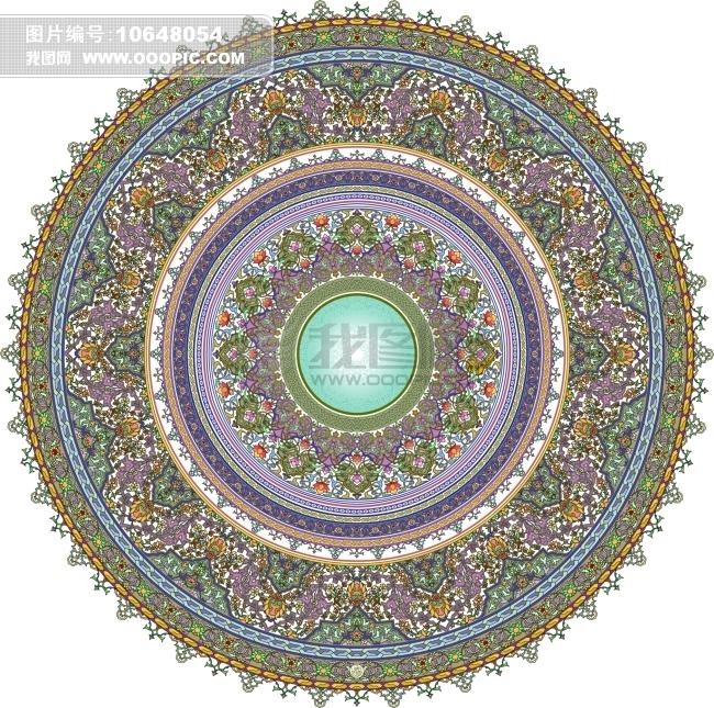 刺绣花纹 瓷片花纹 -其它-其他; 欧式拼花地板贴图;