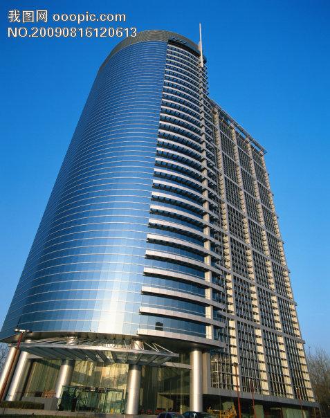 高楼 大厦 仰视图