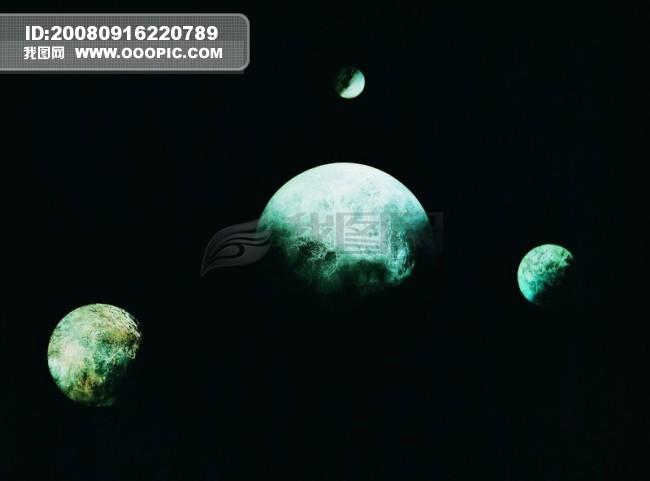 探索 地球 球体 恒星 太阳系