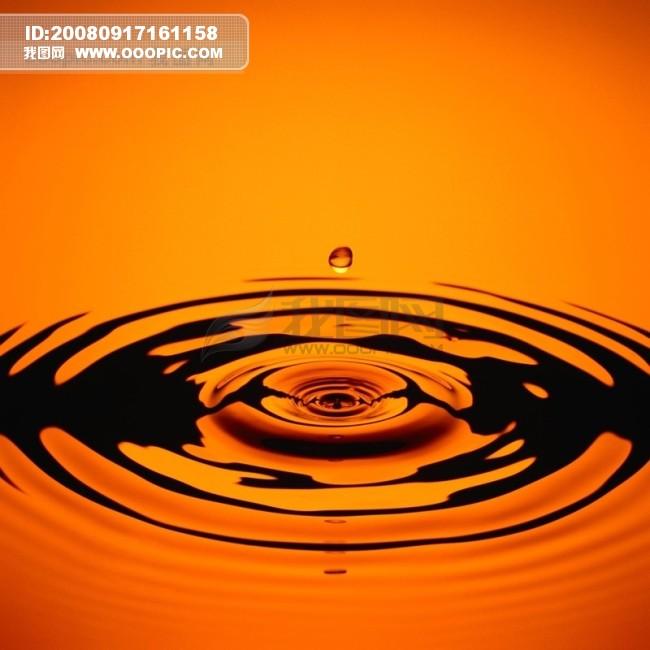 透明/滴水水滴 水珠晶莹剔透 透明 纹理肌理涟漪波纹水波荡漾广告...