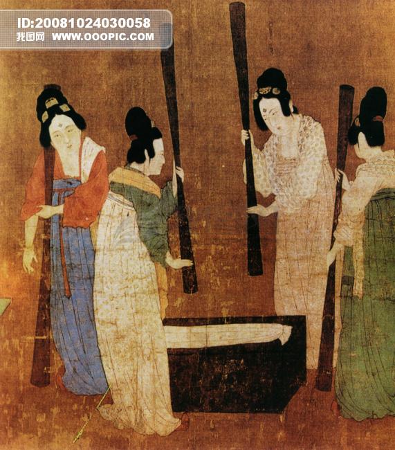 人物 中国/人物 壁画中国文化 人物画像 中国风中华艺术绘画