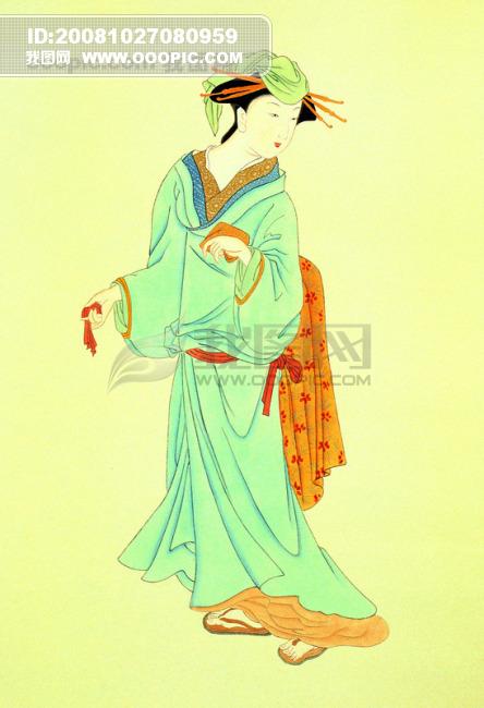 古代美女 王昭君 中国风