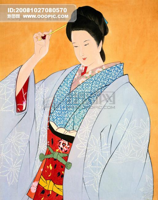 王昭君/古代美女 王昭君中国风 貂蝉 中华艺术绘画