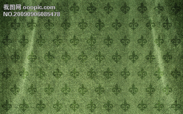 欧式蓝绿色布纹贴图