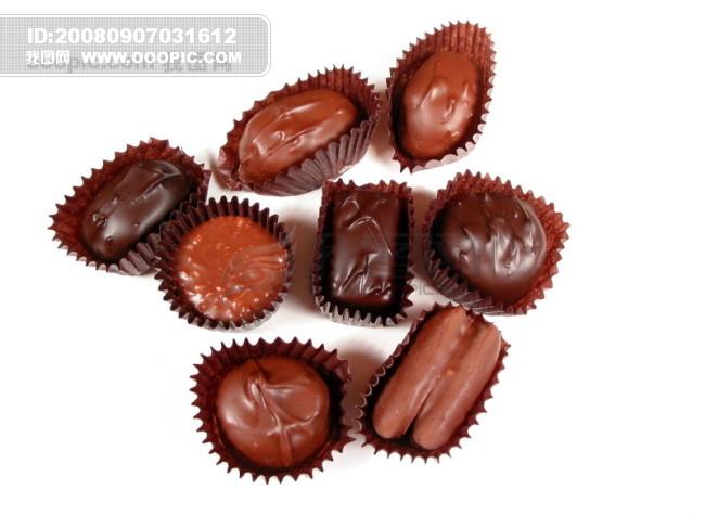 巧克力 世界/巧克力世界 巧克力食物 巧克力爱心巧克力饼干 巧克力糕点
