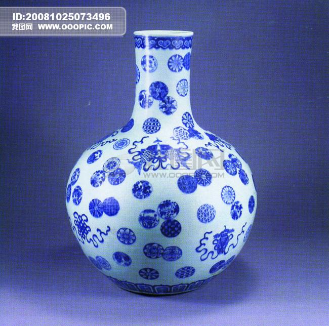 艺术 陶瓷/瓶子花瓶 中国风 陶瓷艺术品 玉如意瓷器古董 中华艺术绘