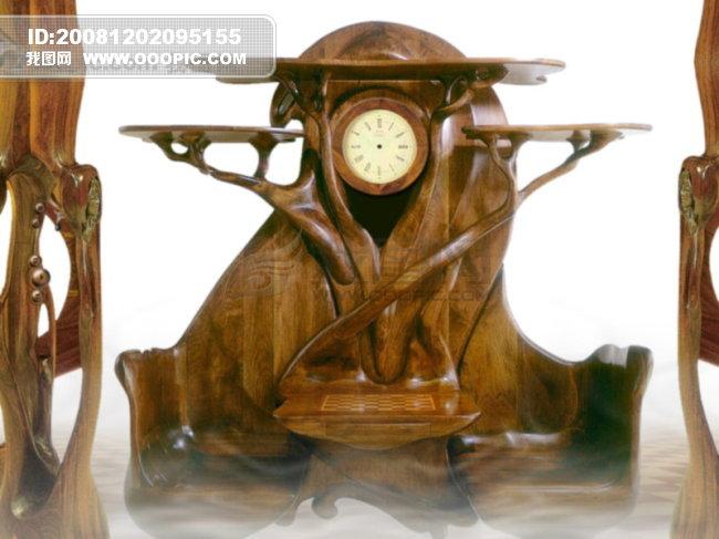 风景|生活|旅游|餐饮 >钟  [jpg] 钟 钟模板下载 钟图片下载 木雕