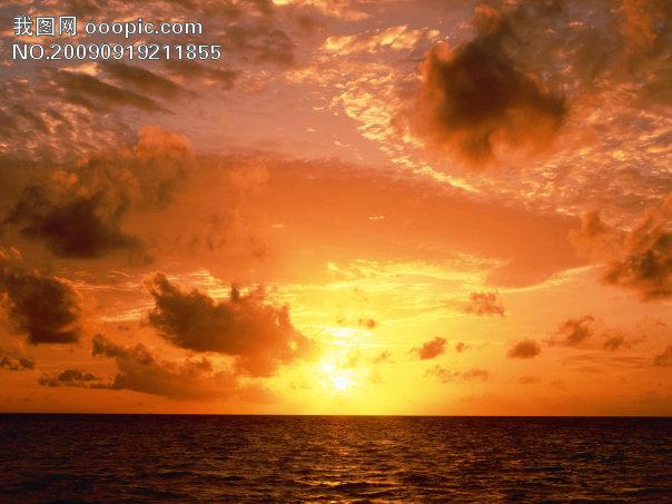 阳光大海唯美意境头像