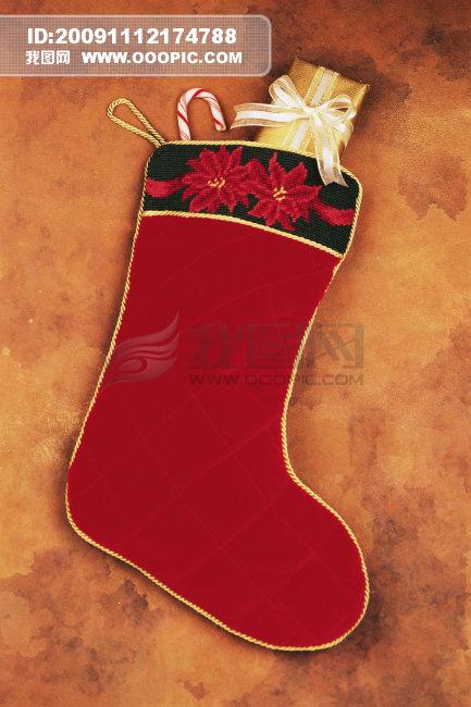 圣诞节袜子_圣诞节袜子简笔画