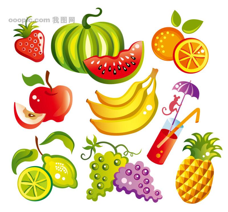 水果蔬菜 ,水果蔬菜,水果 蔬菜 香蕉 菠萝 草莓 葡萄