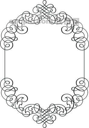 边框[编辑关键词]; 黑白卡通边框大图分享;