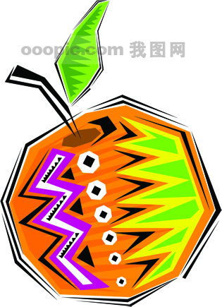 墨西哥手绘食物和乐器矢量素材12