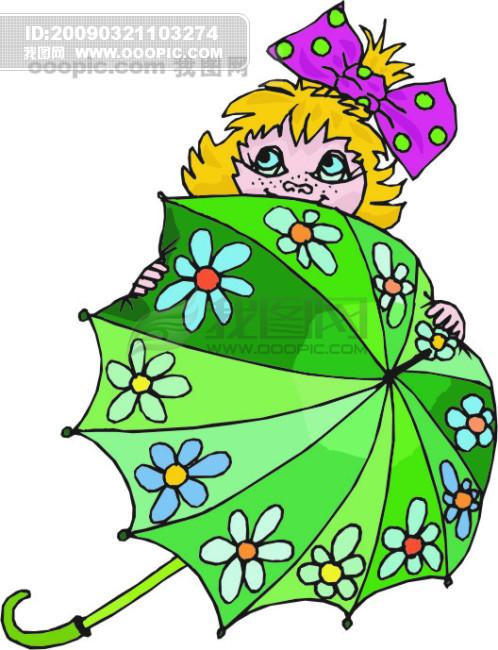 欧美儿童读物插画55