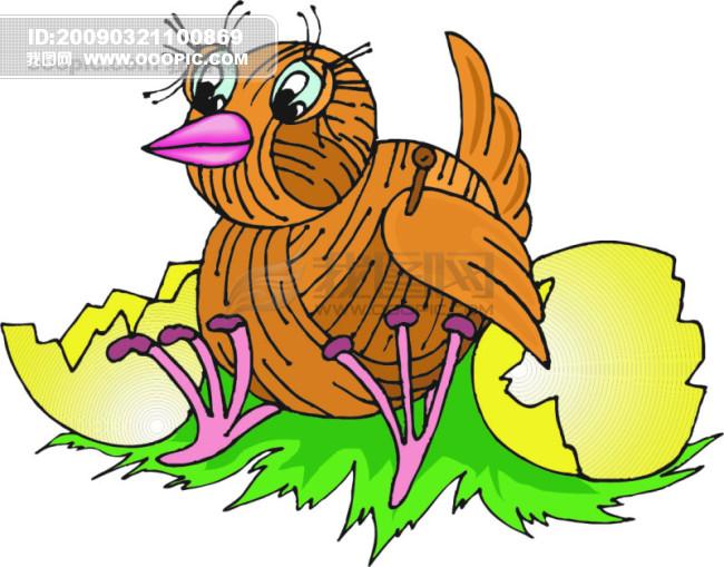 欧美儿童读物插画32