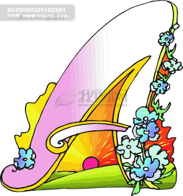 欧美儿童读物插画52