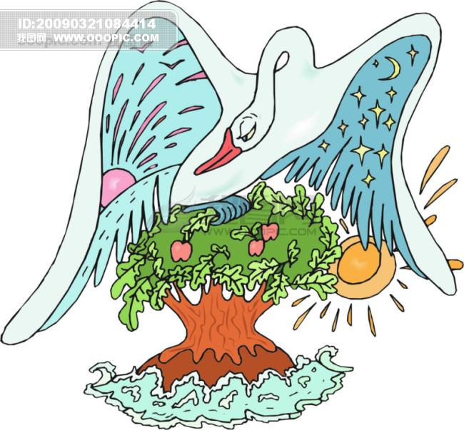 欧美儿童读物插画2