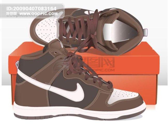 各种鞋子-矢量图设计素材下载 第473页