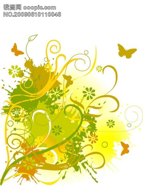 欧美花纹设计模板免费下载 欧美花纹设计图片素材