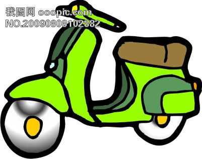 交通工具—摩托车39