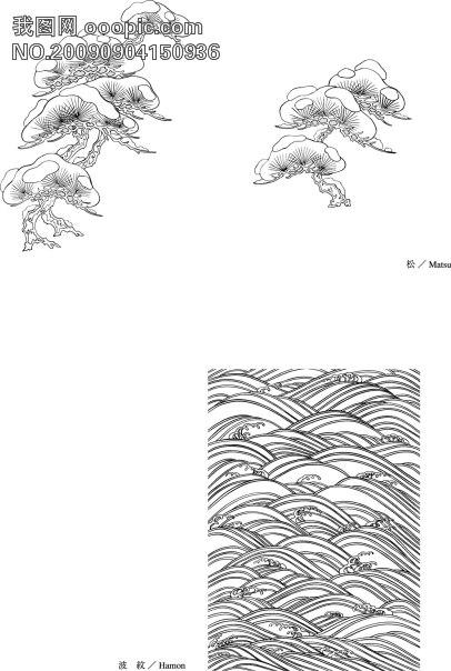 摩托车 手套 服装 行业 矢量花纹 潮流矢量图 手绘 插画 日本 矢量图