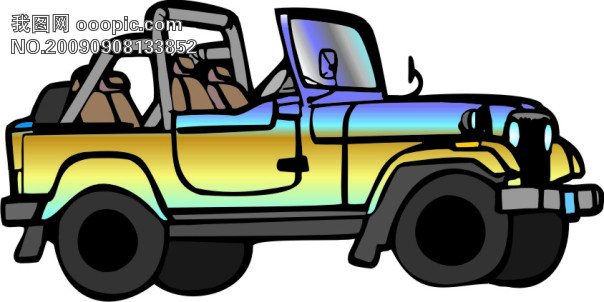 小型轿车的结构图解