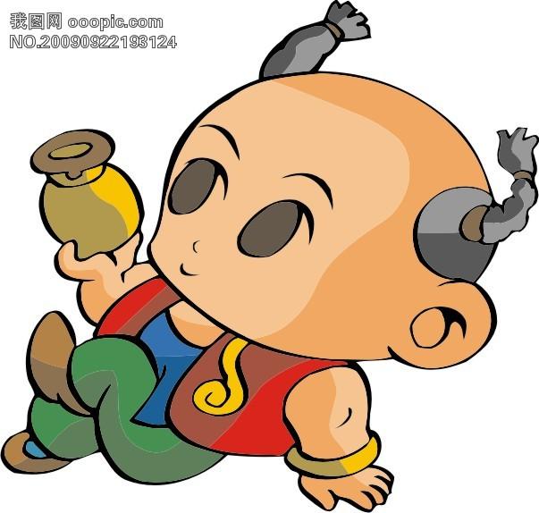 招财童子10模板下载(图片编号:677423)__我图网www.
